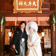 大井神社 宮美殿:*実際の花嫁さんを間近に*神前式見学フェア(試食付)