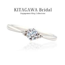 KITAGAWA(キタガワ):0.2カラット【D-IF-3Excellent】の婚約指輪が20万円以下