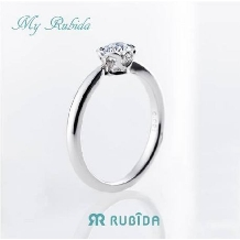 Jewel TSUCHIYA(ジュエル ツチヤ):シンプル×可愛いが詰まった婚約指輪ルビーダ「マイ ルビーダ ソリテールリング」