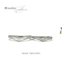 Jewel TSUCHIYA(ジュエル ツチヤ):NEW!ナチュラルV字結婚指輪rubida I am「アントレシャール」