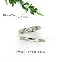 Jewel TSUCHIYA(ジュエル ツチヤ)_NEWデザイン!シンプルだけど自分らしい結婚指輪アイ・アム「デュラブル」