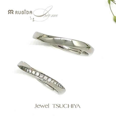 Jewel TSUCHIYA(ジュエル ツチヤ):NEW!優しくフィットする結婚指輪rubida I am「プロムナチュール」