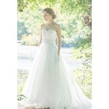GRANMANIE (グランマニエ):【アルティアビス】繊細なシルクの美しいシルエットを存分に堪能できるドレス