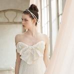 ブライダルハウスTUTU(チュチュ):【リセ】愛らしさが香るエアリーなウェディングドレス☆