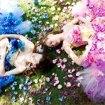 ブライダルハウスTUTU(チュチュ):【ブルーコロン(左)・ピンクコロン(右)】女の子の夢を叶える珠玉のカラードレス☆
