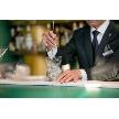 Restaurant Lounge アンクルハット:バーカウンターでお好みのカクテルを・・・。