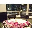 Restaurant Lounge アンクルハット:メインテーブル。装花の持込も可