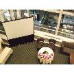 Restaurant Lounge アンクルハット:吹き抜けのスペース。集合写真も可能。