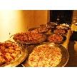 Restaurant Lounge アンクルハット:料理コーナー