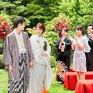 半べえ庭園:【週末限定】伝統ある庭園が人気の秘訣!和婚なんでも相談会