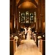 160年前に作られたヴィンテージステンドグラスが並ぶ【セント・ミシェル大聖堂】、そして会場と専用ロビーが1組貸切りフロア。空間の魅力や挙式からパーティーの導線を確認!!