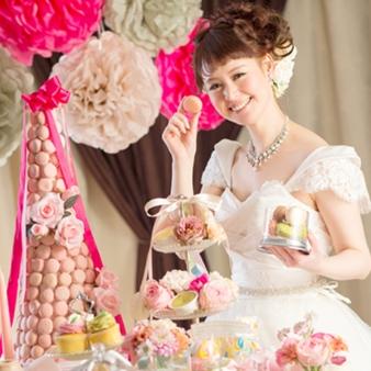 SHOHAKUEN HOTEL(松柏園ホテル):【デザート食べ放題】ドレス試着&撮影「マイ☆コレ」