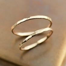 aisorashi_【手作り指輪専門店】K18イエローゴールドリング(1.0mm)