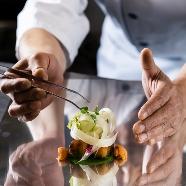 アクアテラス リヴァージュブラン(RIVAGE BLANC):【料理を満喫】国産牛試食×シェフによる演出×ロケーション体験