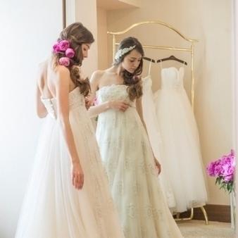 THE GEORGIAN TERRACE(ザ・ジョージアンテラス):【オススメ】ドレス試着で花嫁体験♪プリンセスフェア★☆