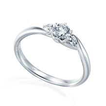 宝石のマルモ_D&D144 144面にカットされた煌めきの美しいダイヤリング*☆*R562