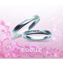 宝石のマルモ_プラチナ900で女性のリングにはダイヤが個性的にはいって素敵!