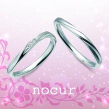 宝石のマルモ_【nocur】プラチナ×シンプルで指をきれいに見せる細身デザインが豊富!