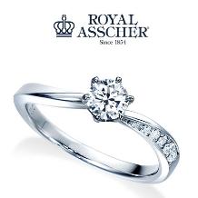 宝石のマルモ_【ロイヤル・アッシャー】花嫁憧れの婚約指輪