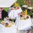 ランブイエ 神戸迎賓館:【スイーツブッフェ体験&試食】緑溢れるガーデン挙式体感フェア