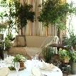 ランブイエ 神戸迎賓館:【緑×白】ナチュラルW おふたりにぴったりコーディネート見学