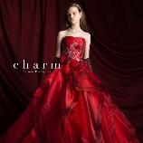 BRIDAL TowaNi(トワニ):【WDからがらっと雰囲気を変えて…】真紅のドレスはエレガントにもかわいらしくも