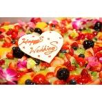 Paris21e(パリ21区):たっぷりのフルーツと生クリームでデコレーションしたオリジナルケーキ