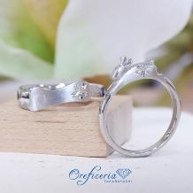 Oreficeria高林_ペットモチーフの結婚指輪 犬&ウサギ