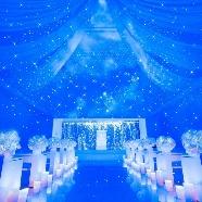 ・・★星空チャペル★・・ THE LHOUSE NAGOYA(エルハウス・ナゴヤ):【フェア予約数★1位】プレ花嫁に話題!人気の星空チャペル体験