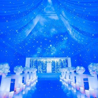 ~滝の教会~ エルハウス・ナゴヤ:♪話題沸騰♪リニューアルした星空チャペルで入場体験☆
