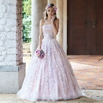 Tous Les Deux(トゥー・レ・ドゥー):【トゥー・レ・ドゥー】ベビーピンクに恋をする幸せ純度100%のドレス