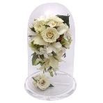 押し花:アクアローズ ふろーりあブライダルデスク