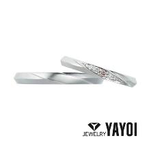 YAYOI BRIDAL(弥生貴金属)_ピンクダイヤモンドで可愛らしくアレンジ