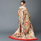 ブライトブルー:【ゼクシィフェスタ福岡@9/22】ドレスショーモデル出展 ゴールド色打掛