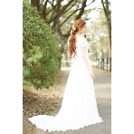 ウエディングドレス:ブライトブルー