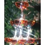 a resturangel Kobekan:【シャンパンタワー演出】その形は「天に感謝する祈り」を意味し、グラスを一つ一つ積み上げていく事には「人生の歩みを刻む事」が表されています。そこに、新郎新婦の2人でシャンパンを注ぎ「幸せが満ち溢れるように・・・」 との願いを込め、2人の門出を祝福します。