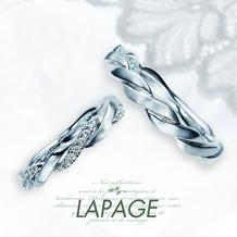 LAPAGE(ラパージュ)_【LAPAGE】ピトレスクコレクション~セルジュ/曲線が織りなす美しいデザイン