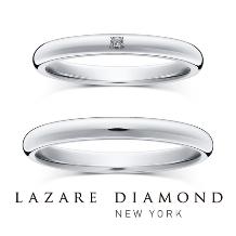 ラザール ダイヤモンド ブティック_【キャナル 2.2mm1石】着け心地の良いシンプルで柔らかなフォルム