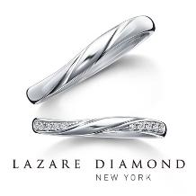ラザール ダイヤモンド ブティック:【ショア】寄せては返す波のような、永遠に続く愛をかたちに