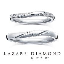 ラザール ダイヤモンド ブティック_【ショア】寄せては返す波のような、永遠に続く愛をかたちに