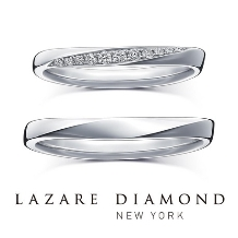 ラザール ダイヤモンド ブティック_【エコー】響きあい深まるふたりの愛をかたちに。
