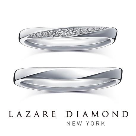 ラザール ダイヤモンド ブティック:【エコー】響きあい深まるふたりの愛をかたちに。