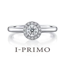 アイプリモ_ぐるりと囲むメレダイヤがセンターダイヤを引き立てるデザイン!!