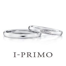 アイプリモ_【ユノー】なめらかな仕上げとダイヤのグラデーションが美しいシンプルリング