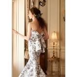 アイリス・メリー・マリー:◇ボタニカル柄が素敵なマーメイドドレス!◇ MMD-1079(プリント)