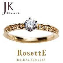 JKPlanet(JKプラネット):【JKPlanet】ロゼット GROVE~木立ち~ 婚約指輪