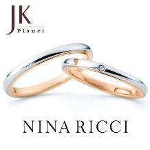 JK Planet(JKプラネット)_NINA RICCI(ニナ リッチ)コンビネーション結婚指輪【JKプラネット】