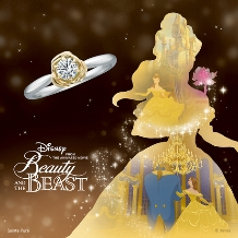 JKPlanet(JKプラネット):ディズニー 美女と野獣 婚約指輪/コンビエンゲージリング【JKPlanet】