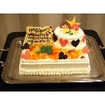 Party Dining Cherry Blanco:オリジナルケーキで楽しく♪