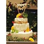 Party Dining Cherry Blanco:好きなデザインで作るウエディングケーキ